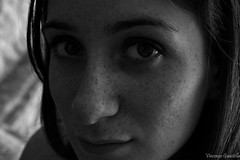 Her (VincenzoGuasta) Tags: profile her woman girl glance eyes occhi sguardo profilo bianco nero bw black white