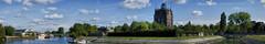 Panorama - Watertower, Dordrecht - (Explore) (Nederland in foto's) Tags: nederlandinfotos nederland netherlands nikon dordrecht paulvandevelde pdvandevelde padagudaloma outdoorphotography outdoor stadsfotografie cityphotography watertower watertoren villaaugustus restaurant hotel panorama wantij river building historisch historic