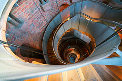 Fibonacci Stairs | Looking Down (Tedz Duran) Tags: tedxduran thelighthouse glasgow scotland uk stairs stairways staircase spiral fibonacci looking up down architecture old new building structure lighthouse travel rural urban urbanscape photography roadtrip sony ilce 7rm2 a7rii voigtlander heliar 15mm iii