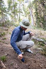 Cat Hole Digger (GlobalGoebel) Tags: grand teton national park canon powershot g9x wyoming backcountry hiking camping cat hole deuceofspades backcountrytoilet tetoncresttrail