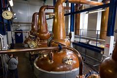 Scotch Stills at Deanston (IceNineJon) Tags: unitedkingdom scotland stirlingshire greatbritain deanston photography canon5dmarkiii europe deanstondistillery stirling 5dm3 britain burnstewartdistillerslimited uk whisky scotch alcohol factory still manufacturer