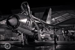 """Lightning Force "" (SJAviation.net) Tags: lightningf6 englishelectric bruntingthorpe nikon coldwar aviation js jet lightningpreservationgroup longexposure nightshoot raf aircraft xr728 binbrook"