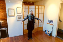 Pata Dada at the Canessa (fabola) Tags: art canessa dada edward exhibit fabrice gallery maker mark maravelis northbeach pataphysics pete presentation really sanfrancisco show truly visit zack