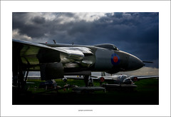 Avro Vulcan B.Mk.2a (Descended from Ding the Devil) Tags: aeropark avro eastmidlands englishelectriccanberra leicestershire sonya7mkii sonyalphadslr vbomber vulcan aircraft bombs clouds fullframe mirrorless photoborder planes sky