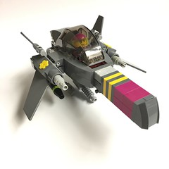 Raging Canary (Buster) Tags: lego moc space starfighter spaceship starship star fighter swoosher spaceadventureplayset