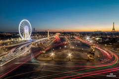 Place de la Concorde (brenac photography) Tags: acf brenac d810 fia france nikond810 bluehour brenacphotography capital concorde concordesquare fontaine fountain goldenhour nikon obelisque paris placedelaconcorde rooftop wheel wow ledefrance fr samyang