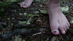 Woodland Feet (bfe2012) Tags: barefoot barefeet barefooting barefooted barefooter barefoothiking baresoles barefoothiker barfuss feet freedom forest barefootlifestyle dirty dirtyfeet dirtysoles woodland woods swamp toughsoles toes muddyfeet marshland myshoes shoes hiking nature