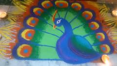 Rangoli  ~Explore~ (U A Satish) Tags: rangoli diwali mumbai india art uasatish explore