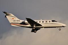 EC-KKD (LIAM J McMANUS - Manchester Airport Photostream) Tags: eckkd gestair ges bizz hawker beechcraft 400xp beechjet be40 bj40 beechjet400 manchester man egcc