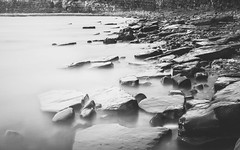 (Attila Pasek) Tags: kimmeridge koodr72 bay beach coast infrared longexposure longexposuretime rock sea water