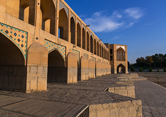 Khaju bridge pol-e khaju over dry zayandeh river, Isfahan province, Isfahan, Iran (Eric Lafforgue) Tags: 0people ancient arches architectural architecture attraction bricks bridge building city colorimage cultural day dried esfahan hispahan horizontal iran iranian isfahan ispahan khajubridge landmark middleeast nopeople nobody orient outdoors persia photography river sepahan shahabbas spadana stone stony tourism touristic traveldestinations unescoworldheritagesite urban zayandeh isfahanprovince
