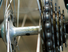 1964 Allegro Special (halftone) Tags: campagnolo nuovo record simplicity vintage cycles bikecentralportland brooksb17 campagnolonuovorecord citycycles cyclart guestblog pinstriping reynolds531 swissbicycles weinmann999