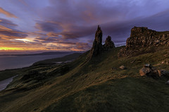 Old Man of Storr (TXA Photography) Tags: oldmanofstorr storr isleofskye sunrise sun clouds landscape mountain skye scotland unitedkingdom uk europe travel autumn colourful colours leefilter scenic scenery beautifullight highlands canon canon5d canon5dmkiv 1124 llens wideangle longexposure le