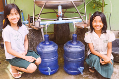 Myanmar case study: Story of a girls journey to overcome an impoverished life; drinking water business flourishing (Peace Gospel) Tags: children child girls girl orphans orphan friends friendship friend kids cute adorable smiles smiling smile happy happiness joy joyful peace peaceful hope hopeful thankful grateful gratitude outdoor water purification health healthy sustainability empowerment empowered empower