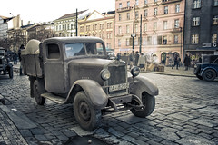 truck (bialobrody) Tags: movie film 40s movieset old past vintage oldtimer classic