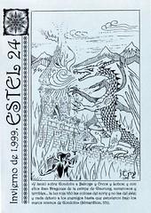 Sociedad_Tolkien_Espanola_Revista_Estel_24_portada (Sociedad Tolkien Espaola (STE)) Tags: ste estel revista tolkien esdla lotr