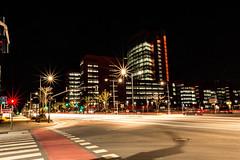 IMG_5250 (Roman737) Tags: esch night street traffic luxemburg luxembourg university universite crossroad verkehr nacht universitaet universitt sur alzette strasse strase