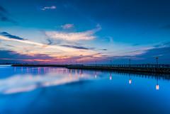Quite Sunset (Muhammad Al-Qatam) Tags: nikon d810 muhammadalqatam malqatam alqatam kuwait kuwaitcity sunset landscape seascape long exposure big stopper clouds reflection