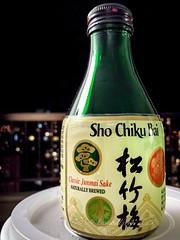 Sho Chiku Bai Classic Sake (Victor Wong (sfe-co2)) Tags: indoor sho chiku bai classic sake japanese junmai