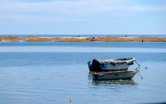 Playa de la Fbrica - Tavira (fruizh) Tags: placita portugal 2016 playadelafbrica barco tavira fruizh algarve