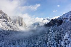 #WinterWonderland (KingXII) Tags: 1855 yosemite sierranevada nationalpark mountains ilc sony winterwonderland nex7 yosemitenp snow