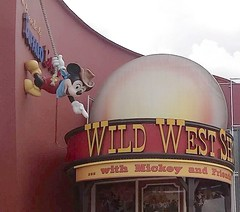Buffalo Bill's Wild West Show (lostindisneydreams) Tags: disneyvillage wildwestshow buffalobills mickeymouse mickey disneylandparis disneyparks disney