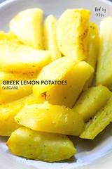 Greek Lemon Potatoes (alaridesign) Tags: greek lemon potatoes vegan