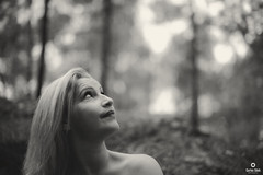 THE FOREST (carlos.odeh) Tags: nikon d810 50mm portrait blackandwhite f14