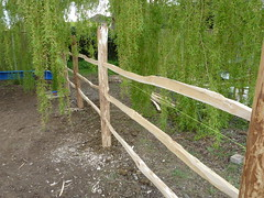 "Rustic Chestnut fencing • <a style=""font-size:0.8em;"" href=""http://www.flickr.com/photos/61957374@N08/6933514182/"" target=""_blank"">View on Flickr</a>"