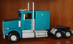Cab Side View (kfergos) Tags: semitruck kenworth tractortrailer modeltruck katieskenworth littleriverminiaturetruckingcompany