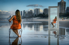 Mirror - Final (dazza17 - DJ) Tags: portrait mirror models spit australia strobe goldcoast goldcoastgoldcoast fulllenth daryljamesscapeslandscapes
