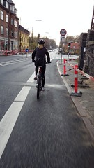 On our way home (os♥to) Tags: woman bike bicycle denmark europa europe pentax bicicleta zealand mtb bici tina scandinavia danmark velo vélo rower cykel lyngby デンマーク osto os♥to april2012 sjællandtina optiowg2gps fietssykkel