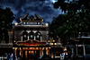 Great Moments With Mr. Lincoln's Animatronic Ghost (hbmike2000) Tags: old night clouds lights nikon disneyland disney d200 operahouse mainstreetusa 100pictures greatmomentswithmrlincoln hbmike2000