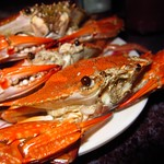 "Grilled Crabs <a style=""margin-left:10px; font-size:0.8em;"" href=""http://www.flickr.com/photos/14315427@N00/7115091877/"" target=""_blank"">@flickr</a>"