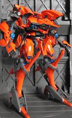 Orange Aaliyah WIP 02 (OrangeKNight) Tags: orange for model 4 kit aaliyah armored core answer mecha mech kotobukiya t55s