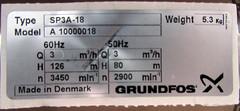 IMG_6989 - Grundfos SP 3A-18 Motordaten (W__________) Tags: pumpe wasserpumpe grundfos typenschild brunnenpumpe kennzahlen grundfossp kenndaten motordaten