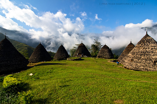 Wae Rebo village, Flores Island, Indonesia