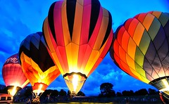 Balloon Glow (Forsaken Fotos) Tags: festival balloon preakness tailwindsoverfrederick preaknessballoonfestival2012