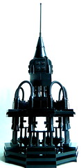 The Iron Spire (MrScareChrome) Tags: black architecture lego lord spire lotr rings fantasy build the moc