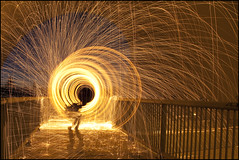 (Nelson Webb) Tags: lightpainting underpass edmonton hobos anthonyhenday structureone hoboswithnikons shadowninthefire