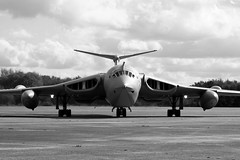 Handley Page Victor, XL231, Lusty Lindy, Battle Group North May 11th. (Pre-fast taxy run checks) (LittleRedUK) Tags: cold war taxi aircraft aviation jets jet fast victor page runs taxy lusty lindy handley xl231
