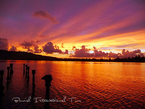 Maluku Sunset, Broken Bridge