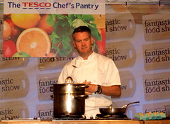 Chef Colin McGurran at Nigel Haworth's Fantastic Food Show - 5 (Tony Worrall Foto) Tags: show uk england food man celebrity cooking make festival fun demo northwest north restaurants tasty eaten blackburn event chef taste venue celeb nigel michelin reviews eatingout foodie asl chefs haworth lancs foodphotography taster celebritychefs 2013tonyworrall