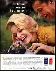 Lady Clairol (Harald Haefker) Tags: promotion lady vintage magazine ads print advertising pub publicidad reclame ad retro anuncio advertisement nostalgia advert 1960s werbung publicit magazin reklame 1961 affiche publicitario pubblicit rclame clairol pubblicizzazione