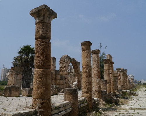 The Entrance to the Hippodrome,  Al Bass Archaeological Site, Tyre