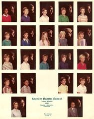 Spencer Baptist School 6th Grade Class 1984-1985 (Malidicus) Tags: school tampa florida christian baptist spencer academy 1985 alumni