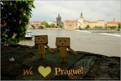 Travelling... (tehhyvredina) Tags: prague praha danbo revoltech  danboard
