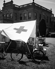 Field Hospital (http://bendthelight.me.uk) Tags: home canon army hall thirties hawk wwii rifle 1d guns fighting bombs forties weapons 30s kestrel homefront worldwar2 40s falconry wartime ats stately dadsarmy washerwoman brodsworth 1dmarkiin bendthelight landarmy landgirls