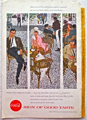 1957 - 1950s Vintage Coca Cola Advertisement From National Geographic Back Page 18 (Christian Montone) Tags: vintage ads advertising coke americana soda cocacola advertisements sodapop vintageads vintageadvert