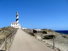 Cap de Favaritx ( cris  (searching for testimonials :)) Tags: blue summer lighthouse landscape faro estate path espana verano sentiero paesaggio menorca spagna minorca balearic baleari coth favaritx abigfave